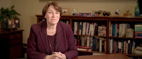 Senator Amy Klobuchar (D-MN) is featured in 'DRUG$,' a new documentary by Foxhound Productions that explores the mystery of modern medicine's skyrocketing price tag here in the U.S. and how it affects people struggling to stay alive. Klobuchar talks about the exorbitant price of insulin, the manipulation of its patent and the difficulty many of her Minnesota constituents have affording the lifesaving diabetes medicine. (Photo: Business Wire)