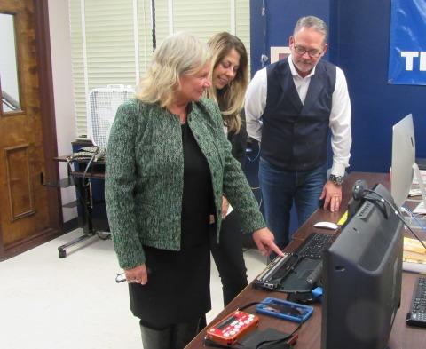 Susan Ruzenski, Executive Director of Helen Keller National Center for Deaf-Blind Youth and Adults ( ...