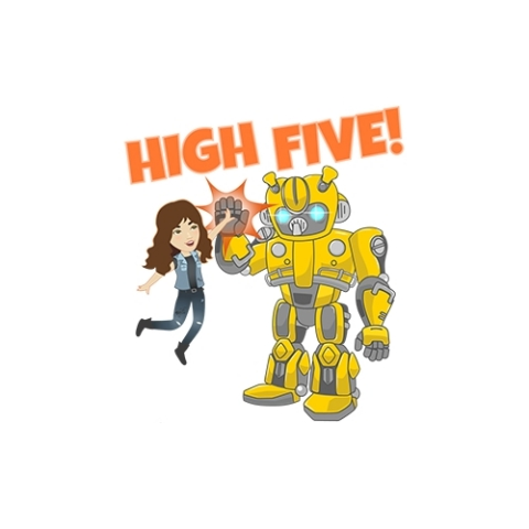 Two new stickers packs feature Charlie and Bumblebee (Graphic: Business Wire)