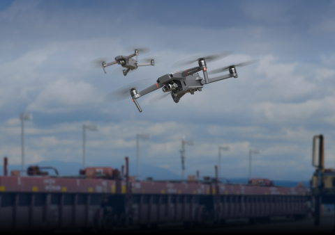 The DJI Mavic 2 Enterprise Dual with Thermal by FLIR will help bring thermal imaging capabilities to more first responders, industrial operators, and law enforcement personnel (Photo: Business Wire)