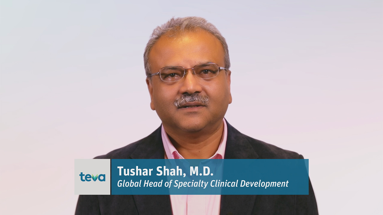 Tushar Shaw, MD, Global Specialty Clinical Development at Teva