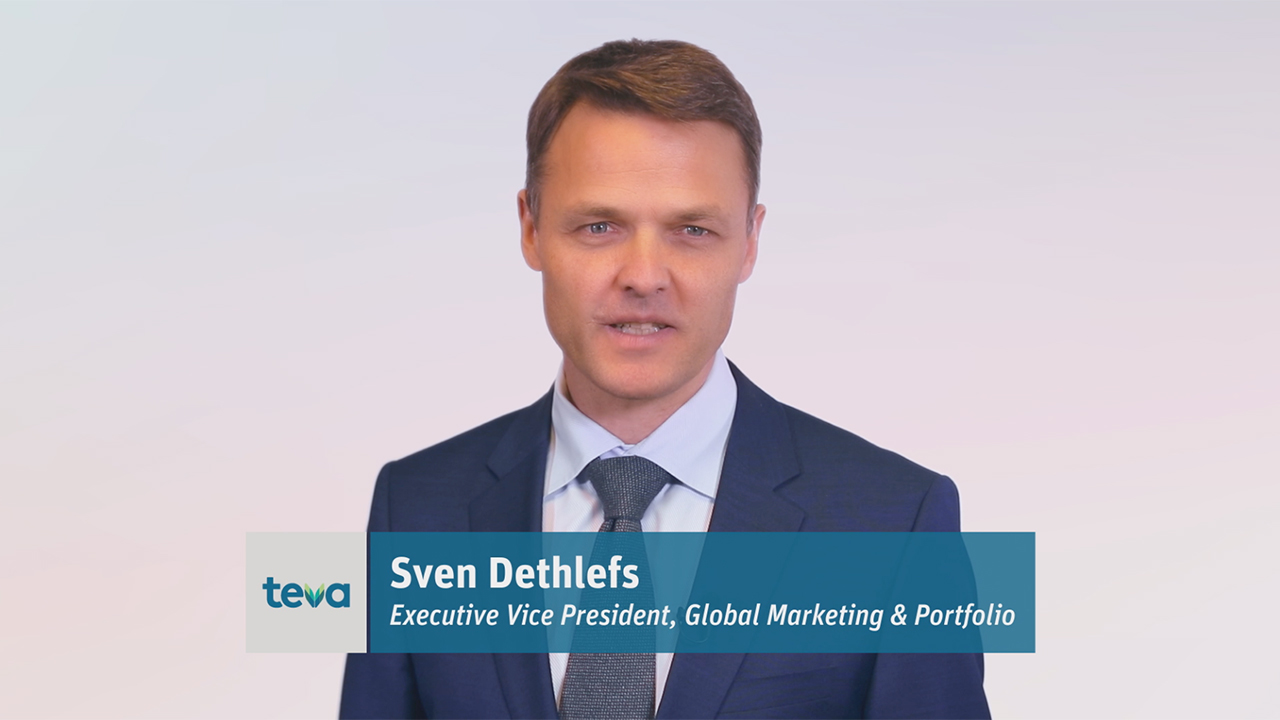 Sven Dethlefs, Global Marketing & Portfolio at Teva