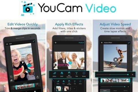 YouCam Video, the newest addition to the YouCam Apps suite, helps users create quick and sharable video stories this holiday season. (Photo: Business Wire)