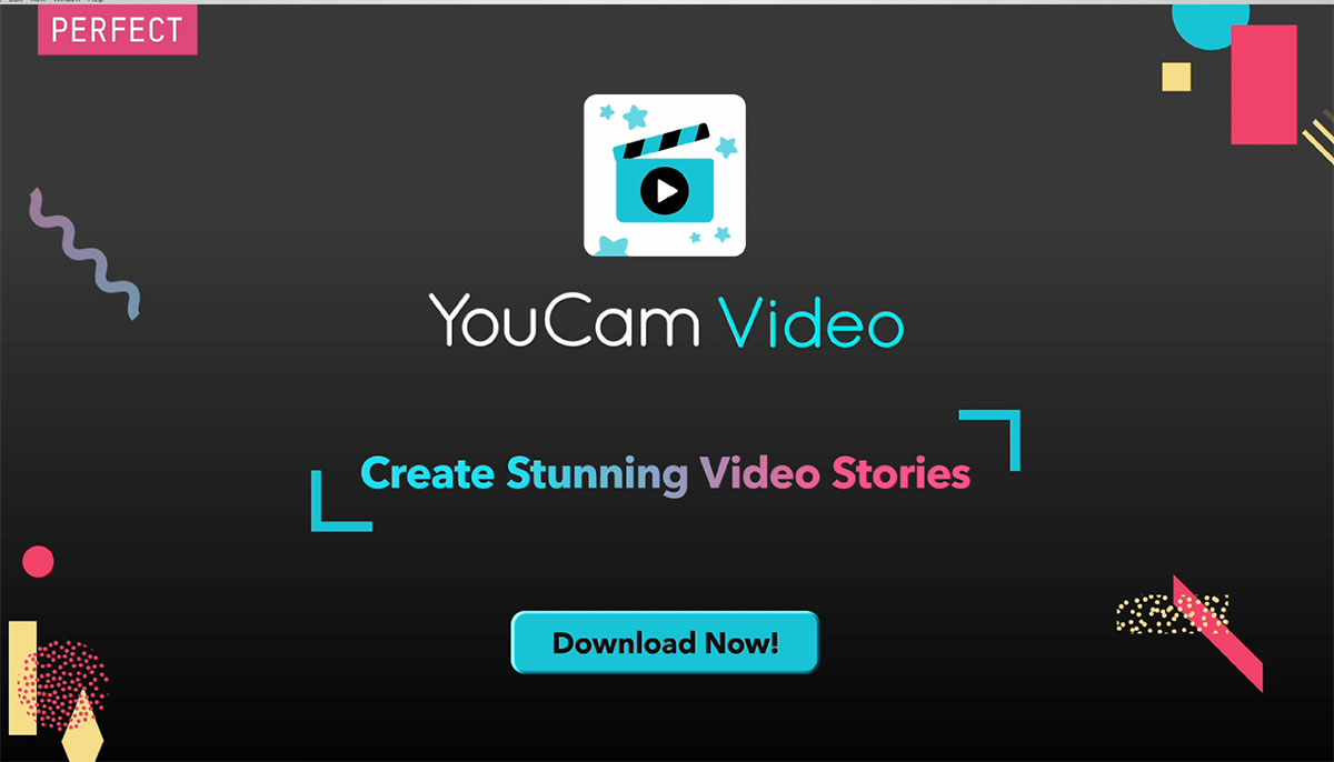 YouCam Video, the newest addition to the YouCam Apps suite, helps users create quick and sharable video stories this holiday season.