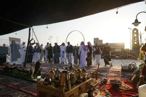 Heritage Activities at 33rd Edition of Janadria Festival in Saudi Arabia (Photo: AETOSWire)