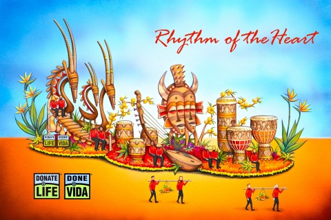 """2019 Donate Life Float, """"Rhythm of the Heart,"""" rendering. (Graphic: Business Wire)"""