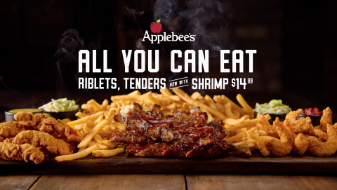 All You Can Eat Riblets & Chicken Tenders are Back at Applebee's and Even Better with Double Crunch  ...
