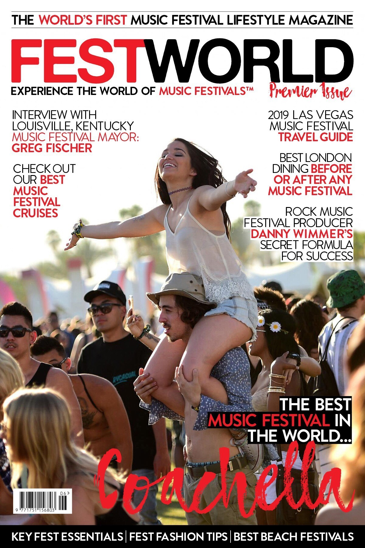 The World's First Music Festival Lifestyle Magazine Launches
