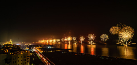 2019 Ras Al Khaimah New Year's Eve Fireworks (Photo: AETOSWire)