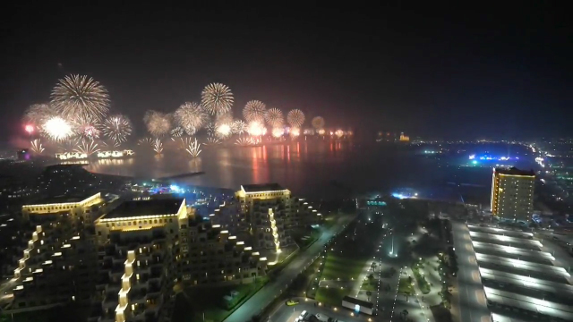 2019 Ras Al Khaimah New Year's Eve Fireworks Secures 2 GUINNESS WORLD RECORDS™  (Video: AETOSWire)