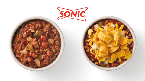 Finally giving super-fans an opportunity to enjoy their favorite SONIC chili flavor as a snack, side dish, or meal, the new Hearty Chili Bowl serves up the same great savory, beefy taste with an irresistible update. (Photo: Business Wire)