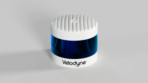 The Velodyne Alpha Puck sensor is specifically made for autonomous driving and advanced vehicle safety at highway speeds. (Photo: Business Wire)