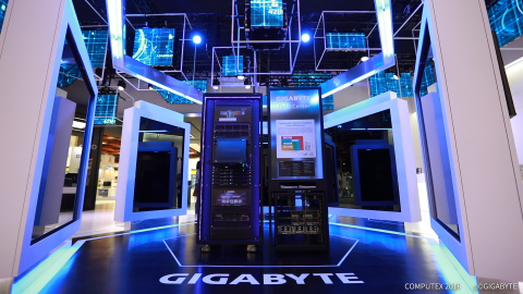 GIGABYTE CES 2019 (Photo: Business Wire)