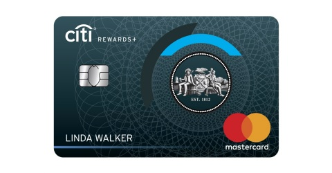 The new Citi Rewards+ Card rewards customers for day-to-day purchases. (Graphic: Business Wire)