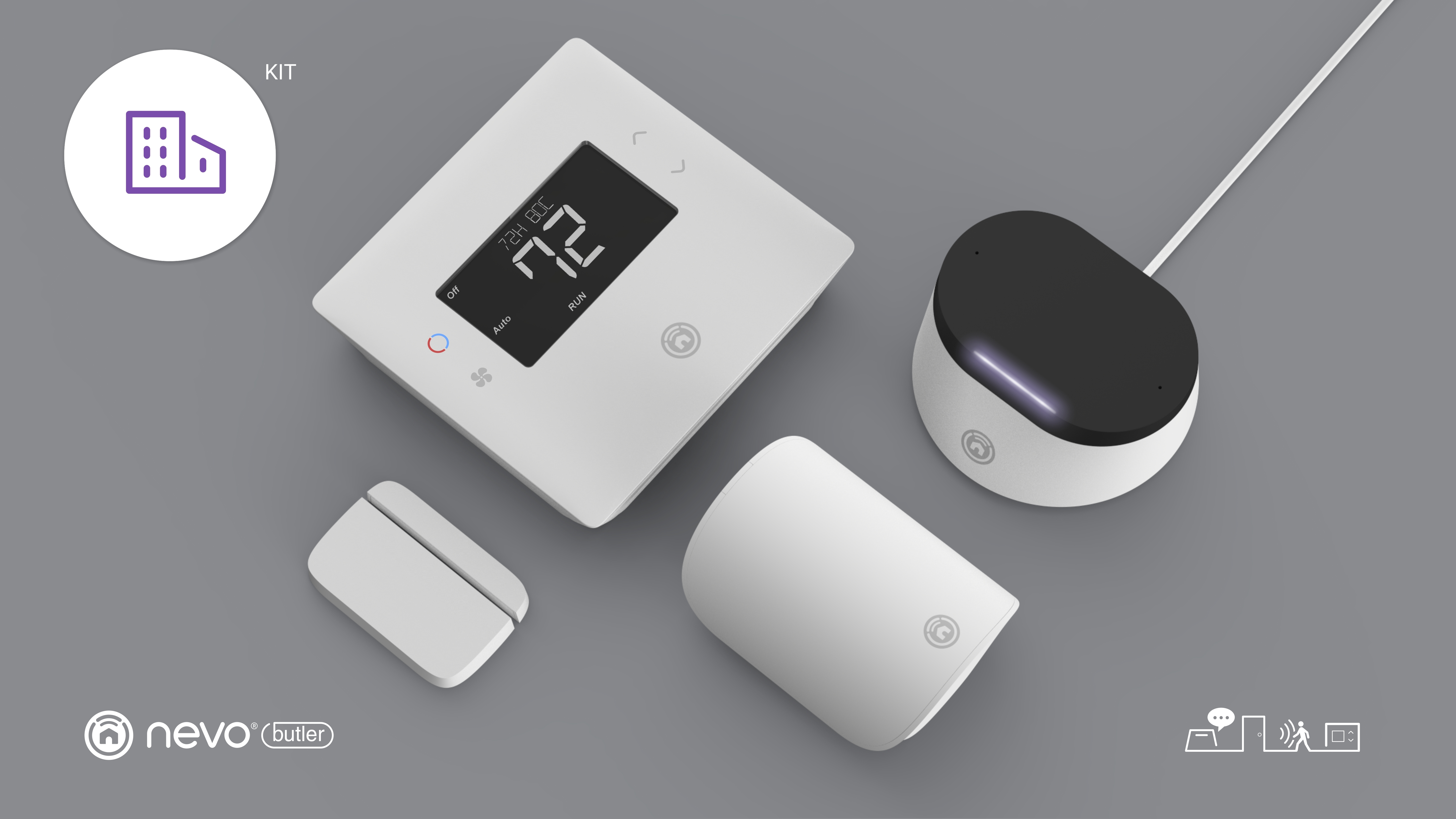 Universal Electronics Introduces Smarter Living Kits Powered By Nevo Smart House Wiring Butler To Accelerate Introduction Of New Home Services At Ces 2019 Business