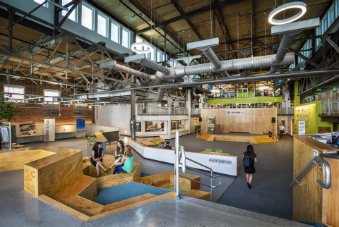 The Town Green at Greentown Labs (Photo: Business Wire).
