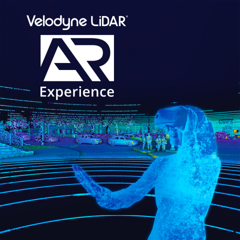 Velodyne's Augmented Reality demonstration allows people to experience how autonomous vehicles see the world. (Graphic: Business Wire)