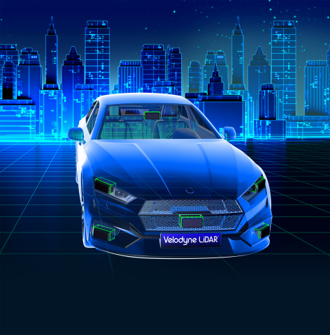 Velodyne Velarray's best-in-class range, resolution, and field of view facilitate robust object detection, allowing for longer braking distance and increased safety. (Graphic: Business Wire)