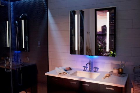 KOHLER Verdera Voice Lighted Mirror (Photo: Business Wire)