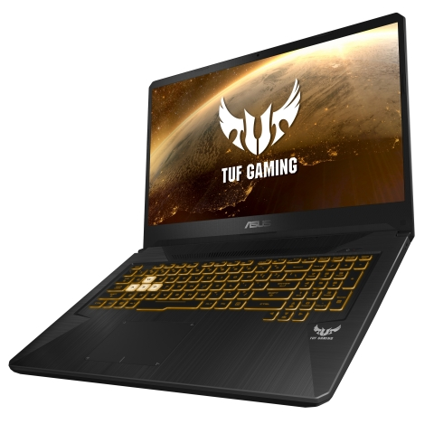 ASUS TUF Gaming FX505DY and FX705DY: Latest TUF Gaming laptops feature next-gen AMD Ryzen processors, Radeon graphics, NanoEdge displays with FreeSync technology, and the latest connectivity options (Photo: Business Wire)