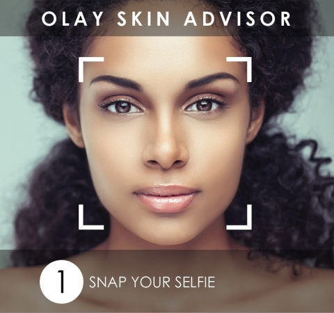 With just a selfie and a short questionnaire, Olay Skin Advisor provides a smart skin analysis and personalized skincare recommendation. (Photo: Business Wire)