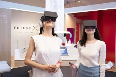 "Browse, shop and learn about your skin at your own pace via engaging ""phygital"" skincare experiences at the SK-II Future X Smart Store. (Photo: Business Wire)"