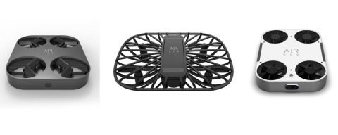 AirSelfie's fleet of flying cameras, including the AIR 100, AIR Zen and AIR Duo (pictured), is takin ...