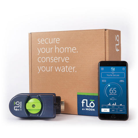 Moen partners with Flo Technologies to launch Flo by Moen at CES 2019. (Photo: Business Wire)