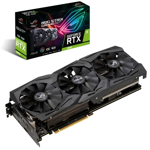 ASUS ROG Strix, ASUS Dual, and Turbo GeForce RTX™ 2060 Gaming Graphics Cards: Gaming graphics cards include new cooling features for exceptional performance. (Photo: Business Wire)