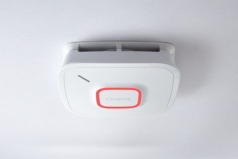 Bringing convenient connectivity and peace of mind, the new Onelink Smoke & CO Alarm is the ideal supplemental alarm for homes that already rely on the Onelink Safe & Sound for both entertainment and safety. (Photo: Business Wire)