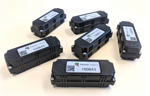 Polymer Logistics Smart IoT Tracker, powered by Sequans' Monarch (Photo: Business Wire)