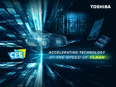 CES 2019 will see Toshiba Memory debut a new lineup of ultra-compact, single package NVMe SSDs that  ...