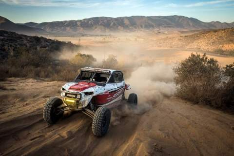 Polaris RZR Factory Racing Team Sets New Record For Most Wins 2018, 50 Total Wins and 118 Podiums (Photo: Business Wire)