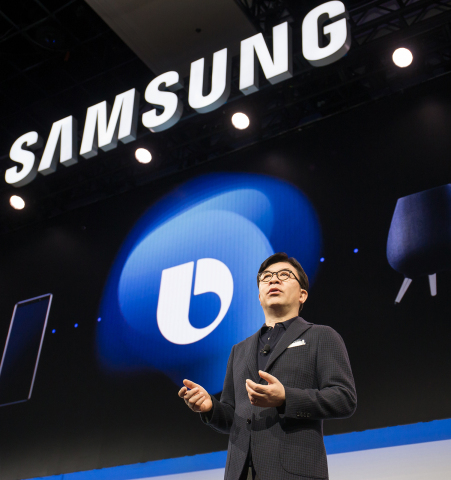 HS Kim, President and CEO of Consumer Electronics Division at Samsung Electronics, unveiled Samsung' ...