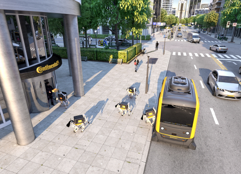 Driverless vehicles offer a smart solution to meet the challenges of urban mobility. (Photo: Business Wire)