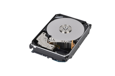 Toshiba: 16TB MG08 series hard disk drives, the industry's largest capacity Conventional Magnetic Recording (CMR) HDD (Photo: Business Wire)