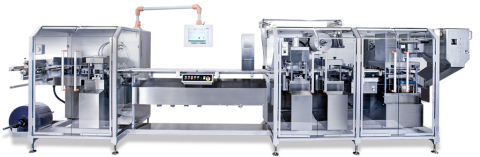 The Pharmaworks TF2 blister packaging line (Photo: Business Wire)