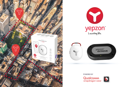 Yepzon introduces next generation 4G LTE Smart Trackers at CES 2019 