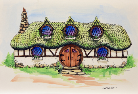 Ancient Lore Village at Boyd Hollow features 150 themed dwellings. (Photo: Business Wire)