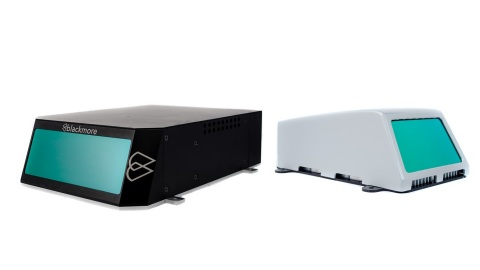 The world's first interference-free Doppler Lidar from Blackmore provides autonomous fleets with instantaneous velocity and range data for objects beyond 450 meters. (Photo: Business Wire)