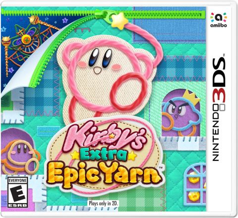 Kirby's Extra Epic Yarn launches for the Nintendo 3DS family of systems on March 8. (Photo: Business Wire)
