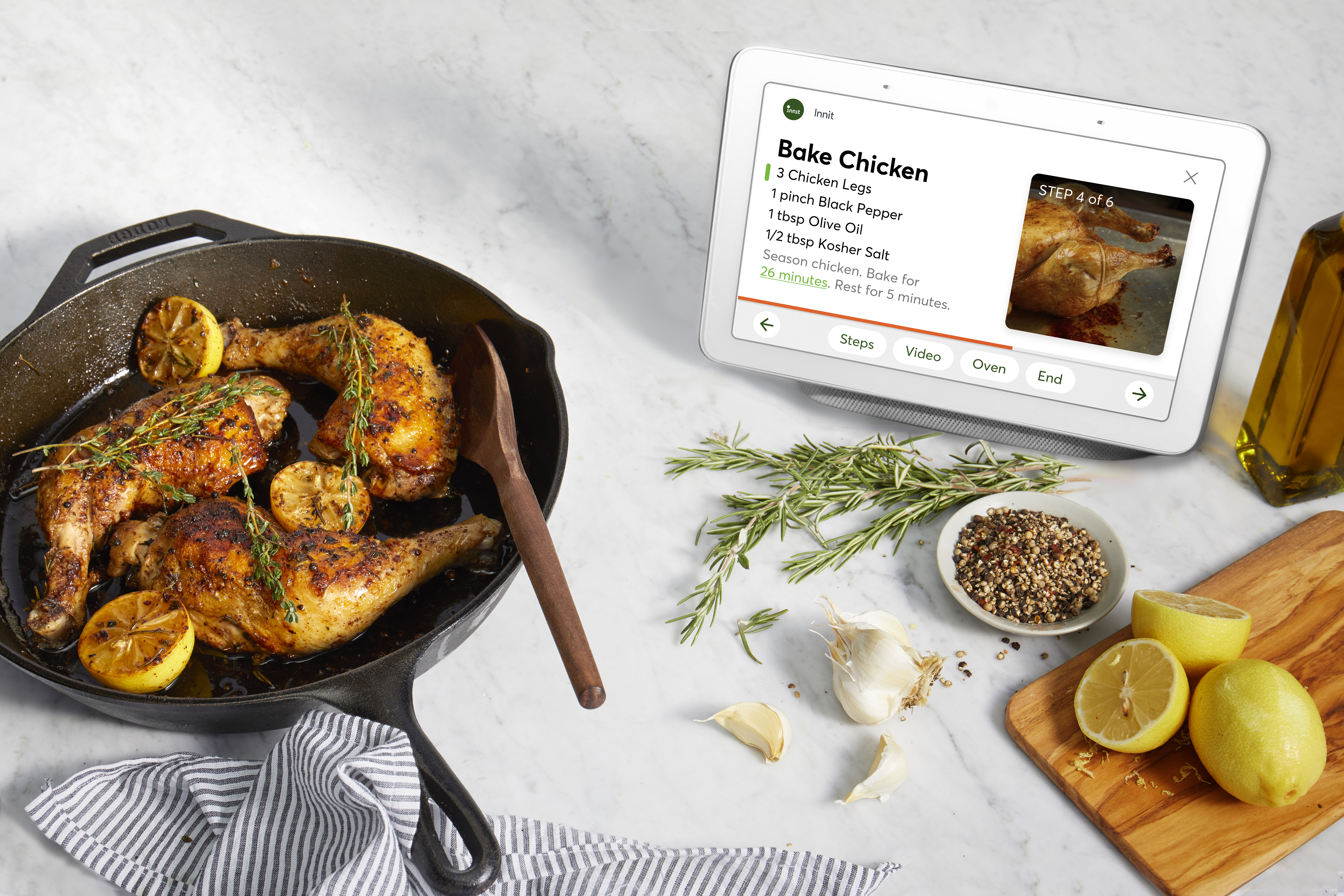 Innit Launches Smart Kitchen Platform on Google Assistant