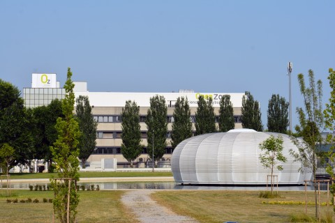 The new FlowMetric Europe Headquarters will be located within the Zambon OpenZone Campus at Via Antonio Meucci, 3, 20091 BRESSO (MI), a short distance from Milan center city. (Photo: Business Wire)