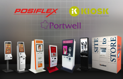 KIOSK and Posiflex demonstrate new technology and new designs with Bitcoin ATMs, BOPIS, Digital Signage, Remote Monitoring, and Omnichannel IoT at NRF (Photo: Business Wire)