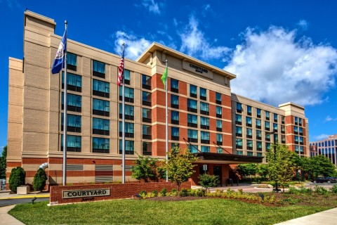 The Courtyard by Marriott Dulles Airport Herndon in Virginia. (Photo: Business Wire)