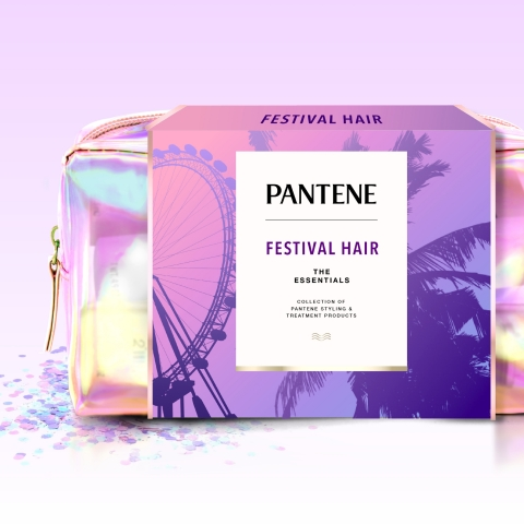 The Pantene #FestivalHair Capsule Collection Kit includes every festival and summer essential (Photo: Business Wire)
