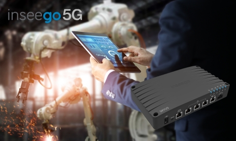 Inseego 5G NR IIoT Router (Graphic: Business Wire)