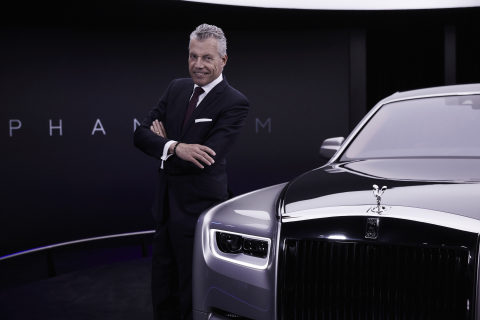 Torsten Müller-Ötvös, CEO, Rolls-Royce Motor Cars, announced record global results for 2018 with 4,107 Bespoke commissions delivered. The all-new Phantom drove growth and the Americas region remains the biggest by far. The Home of Rolls-Royce at Goodwood is acknowledged and celebrated as a global center of luxury manufacturing excellence, 2019 looks even more promising with the newly launched Cullinan SUV. (Photo: Business Wire)