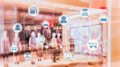 Sensormatic connected solutions deliver real-time insights to enable successful unified commerce (Graphic: Business Wire)