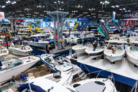 U.S. boat manufacturers and dealers are preparing for a busy winter boat show season around the country, with new powerboat sales expected to increase 3-4% in 2019. (Photo: Business Wire)